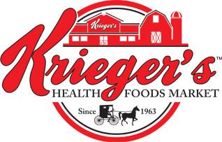 Krieger's Health Foods Market Footer Logo