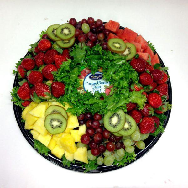 Fruit-cream-cheese-platter
