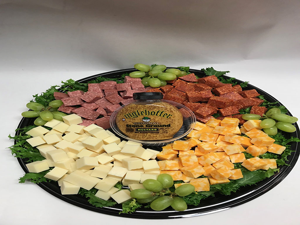 Krieger Meat And Cheese Tray Kriegers Health Foods Market