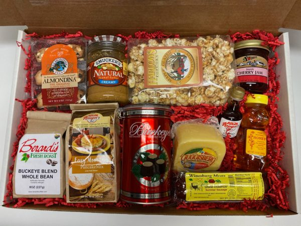 Ohio Buckeye Gift Box